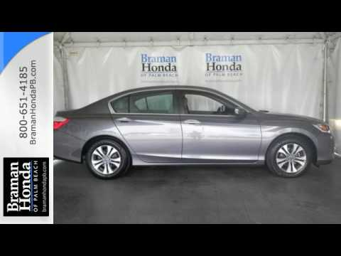2013 Honda Accord West Palm Beach FL Lake Worth, FL #61974A