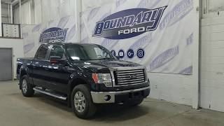 Pre-owned 2012 Ford F-150 SuperCrew XLT XTR W/ 5.0L, Cloth Overview | Boundary Ford