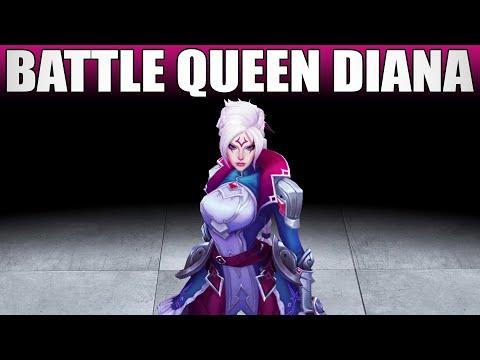 Battle Queen Diana Skin Spotlight
