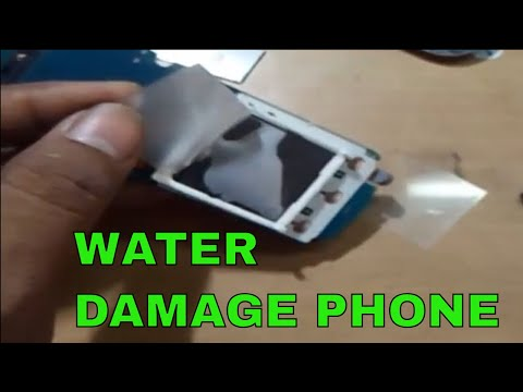 How To Clean Water Damage Mobile Phone