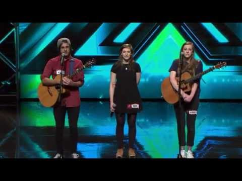Perfect harmonic performance by Fare Thee Well - The X Factor NZ on TV3 - 2015