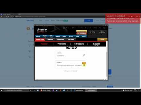 how to recharge money on AMERICAS CARDROOM via bitcoin
