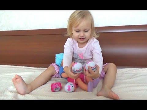 Алиса заболела  Открываем сюрпризы Хеллоу Китти Май Литл Пони surprises Hello kitty My little Pony
