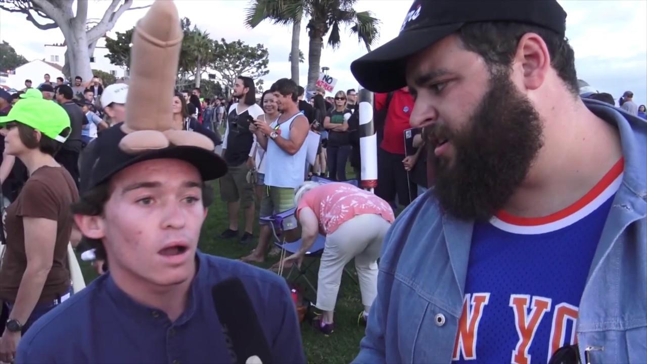 Anti-Trump Protester Compilation - IMMIGRATION | FLECCAS TALKS