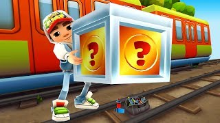 SUBWAY SURFERS GAMEPLAY PC HD ✔ JAKE AND 60 MYSTERY BOXES OPENING