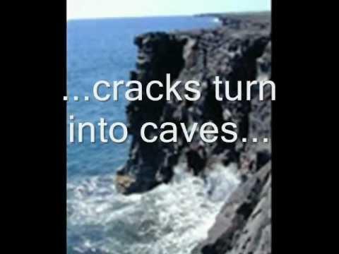 Erosion of headlands
