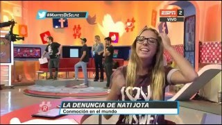 ¿Nati Jota pasó la noche con Matías Schrank? 29.03.2016