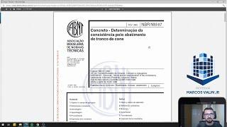 NBR NM 67:1998 - Concreto: Determinação da consistência pelo abatimento do tronco de cone  / Slump