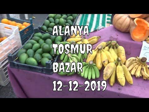 Цены на рынке Alanya 12 декабря Тосмур Цитрусы Хурма Овощи