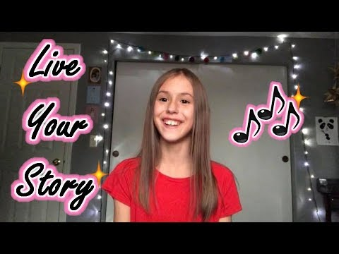 Live Your Story - Auli'i Cravalho - Cover by Presley Noelle age11