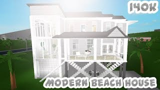 Bloxburg| Beach house: 140k
