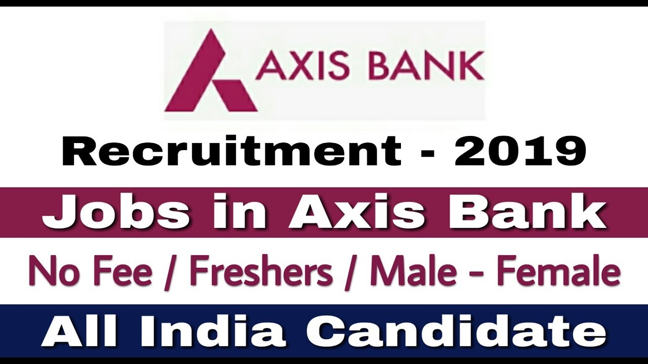 axis bank recruitment 2015-16 apply online
