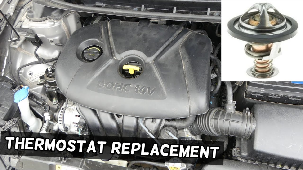 Car Thermostat Replacement >> Thermostat Replacement Location Kia Forte Soul 1 8 2 0 Nu