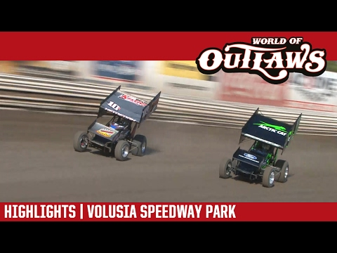 World of Outlaws Craftsman Sprint Cars Volusia Speedway Park February 19, 2017 | DAY HIGHLIGHTS