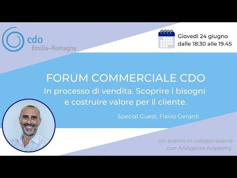 IL PROCESSO DI VENDITA: Scoprire i bisogni e costruire valore per il cliente con Flavio Gerardi