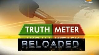 Truthmeter 23rd May 2014