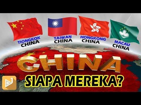 Kenapa ADA 4 CHINA DI ASIA!!  MEREKA  Sebenarnya SIAPA?  Ini Penjelasaanya.