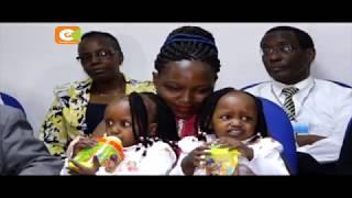Pacha waliotenganishiwa hospitalini Kenyatta waruhusiwa kwenda nyumba