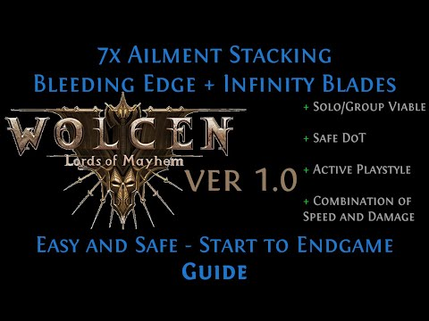 [Wolcen 1.0] [Guide] Ailment Stacking Melee Character | Start To Endgame [play_like_jay]