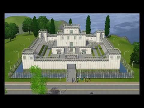 Sims 3 Zombie Apocalypse Defense Fortress Youtube