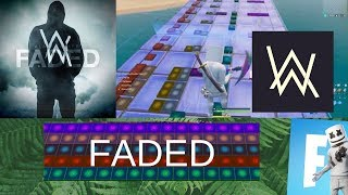 FADED - ALAN WALKER (Fortnite Music Blocks Remake) [With Code]
