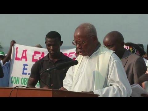 Guinée équatoriale, Fin de la tournée nationale du Président Obiang Nguema MBASOGO