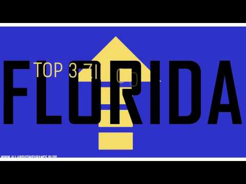 Top 3 Zip Codes with the Highest and Lowest Auto Insurance Rates in Florida