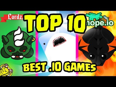 TOP 10 BEST .IO GAMES Of 2018/19