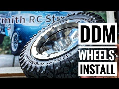 Installing DDM BILLET SIX ALUMINUM Wheels - Smith RC Studios