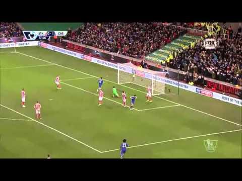 Gol Premier League Stoke City vs Chelsea 0-2 - Giornata 17