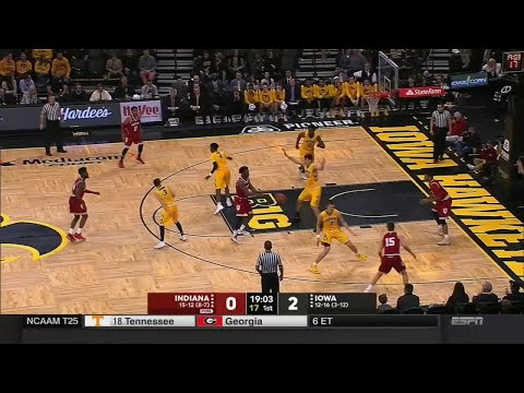 IUBB Highlights vs. Iowa