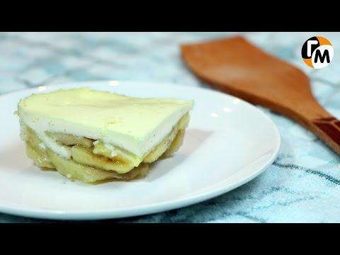 Творожная запеканка с бананом | Диетическая творожная запеканка -- Голодный Мужчина, Выпуск 54