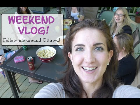 Weekend Vlog - Speed Dating, Biking/Beaches In Ottawa & Tone It Up Unboxing!