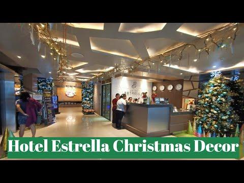 Hotel Estrella Christmas Decorations