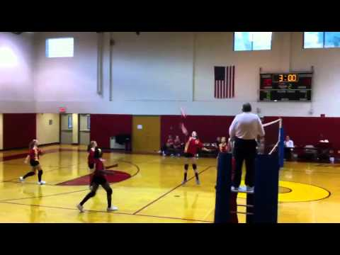 Olean Middle School volleyball