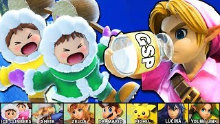 Getting the 2nd Row of Characters to Elite Smash