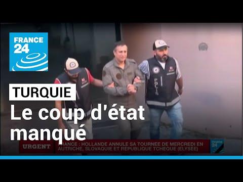 TURQUIE - Coup d'État manqué : Au moins 260 morts et 3000 arrestations