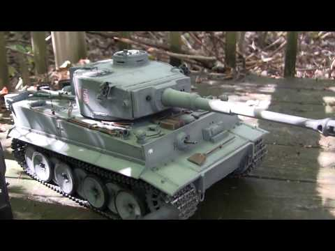 1/16th scale RC Mato all metal early production tiger I model final chapter (mechanical systems)