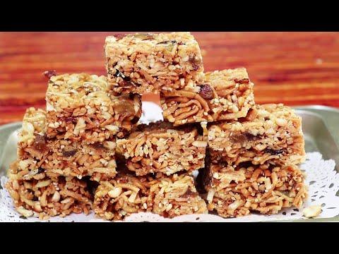 在家就能做的小零食,面條沙琪瑪,簡單好吃,營養健康,壹次能吃好幾個!【昕悅廚房】