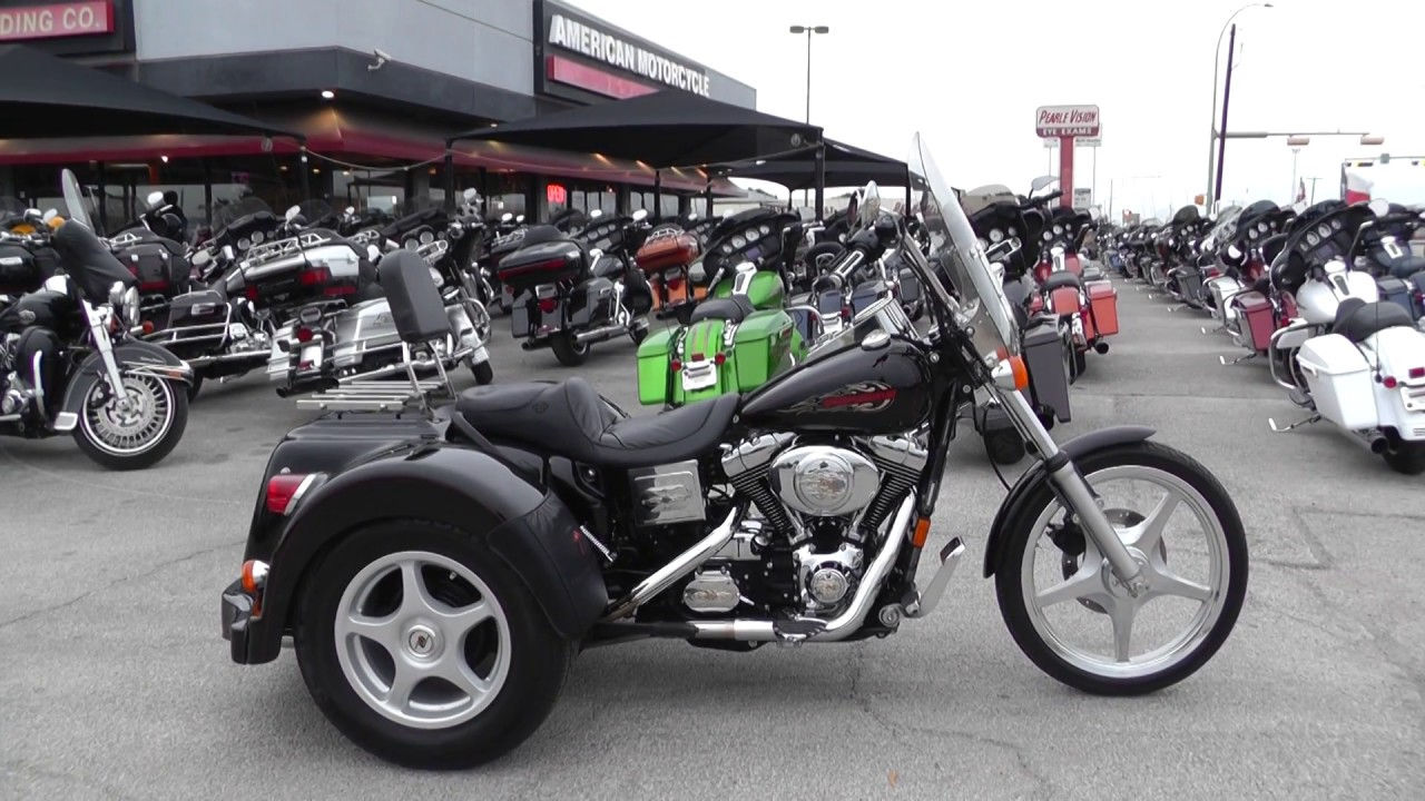 309345 - 1999 Harley Davidson Dyna Wide Glide LEHMAN TRIKE CONVERSION -  Used motorcycles for sale