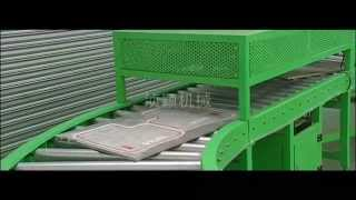 Automatic PVC car mat machine