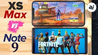 fortnite iPhone Xs max vs Note 9