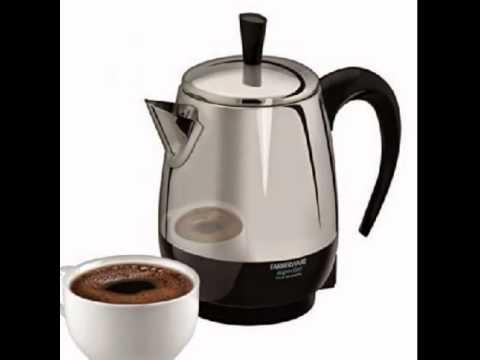 review farberware fcp240 2 4 cup percolator stainless steel youtube rh youtube com Farberware 1 2 Cup Coffee Maker Farberware Electric Coffee Pot Plug