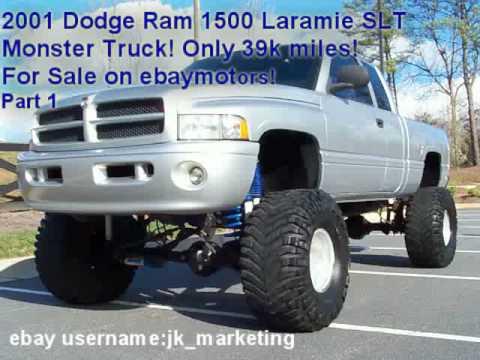 2001 Dodge Ram Monster Truck 4x4 for sale  YouTube