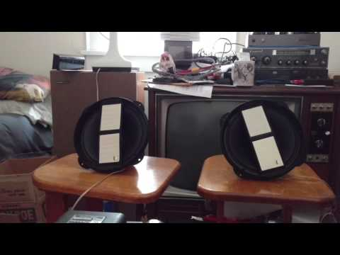 New old stock Pioneer PAX-20E coaxial speakers