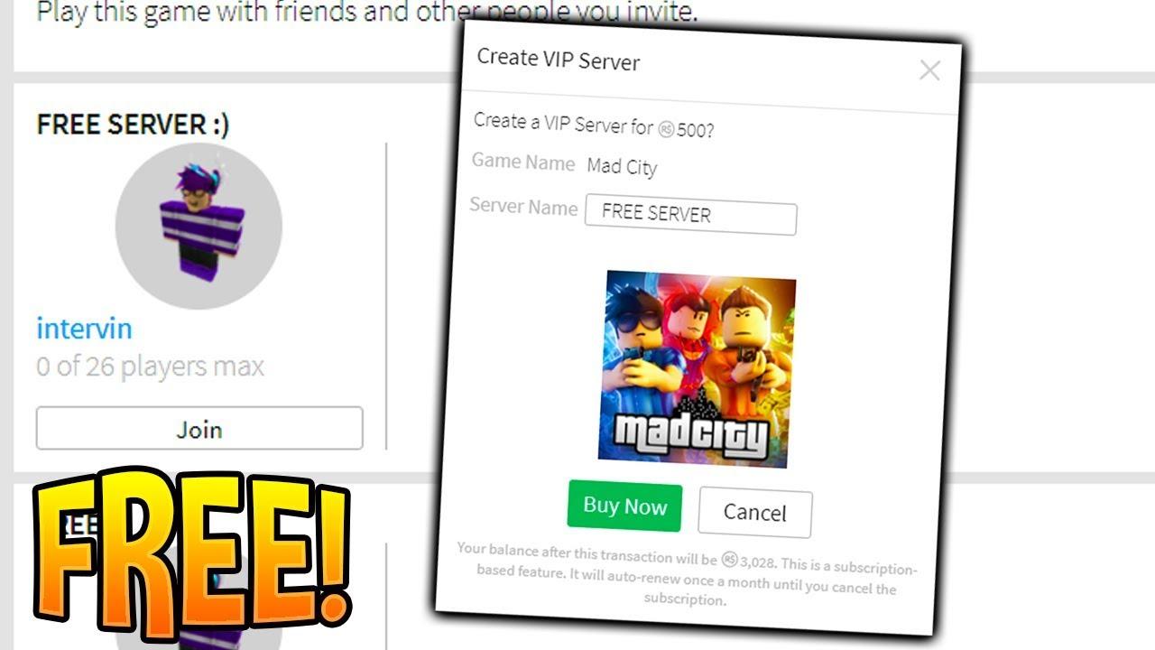 Roblox Mad City Free Vip Servers 2019 Youtube