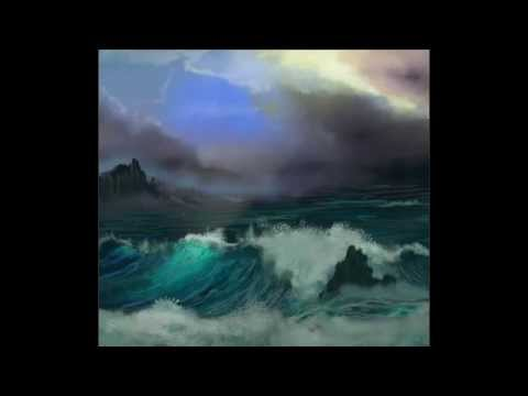 A How-to Painting of a Stormy Ocean in Artrage - Start to Finish