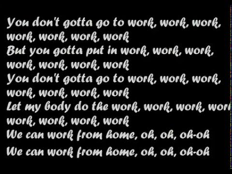 Fifth Harmony  Work from Home ft Ty Dolla sign lyrics sounds