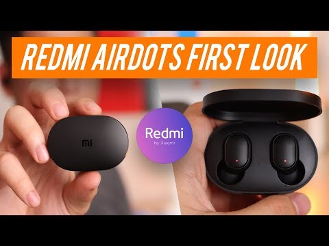 Xiaomi Redmi AirDots Hands-on Review & Unboxing