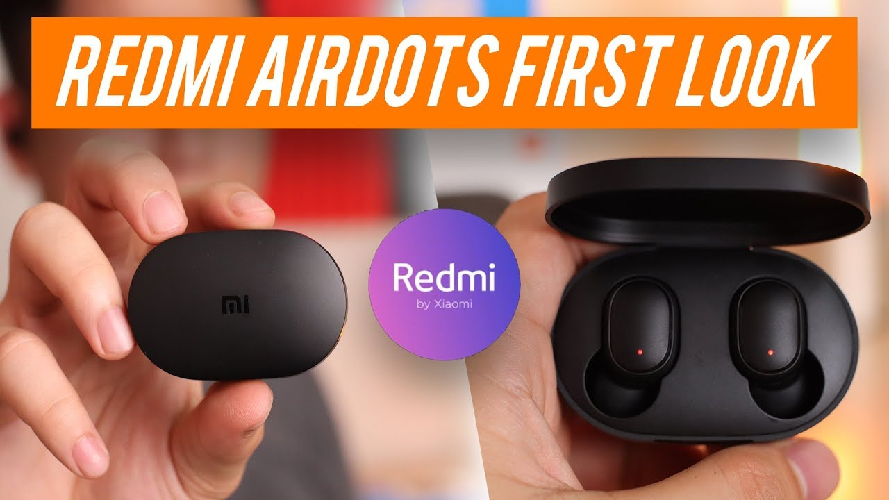 codice promozionale a42fa f500d Xiaomi Redmi AirDots Hands-on Review & Unboxing - YouTube